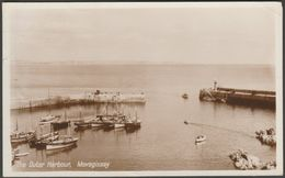 The Outer Harbour, Mevagissey, Cornwall, C.1930s - Photo Precision RP Postcard - England