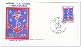 Nieuw Caledonië 1984, FDC, Day Of The Army - FDC