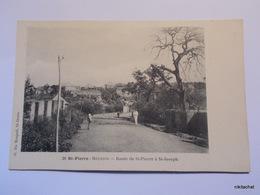 SAINT PIERRE-LA REUNION-Route De St Pierre à St Joseph - Saint Pierre
