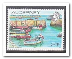 Alderney 1991, Postfris MNH, Ships - Alderney