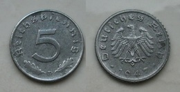Alliierte Besetzung 5 R.Pf. 1947D Schön !    (K227) - 5 Reichspfennig