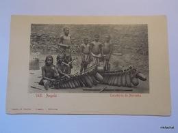 ANGOLA-Tocadores De Marimba - Angola