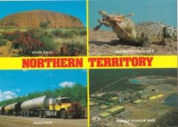 Australia - Northern Territory Multiview, Unused - Australia