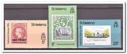 Sint Helena 1976, Postfris MNH, Ships, Stamp On Stamp - Sint-Helena