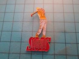 Pin610e Pin's Pins : BEAU ET RARE :  SPORT DE MEDECIN GLANDEUR : LE GOLF   , Marquage Au Dos : - --- - - Golf