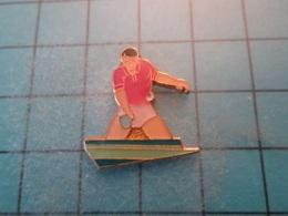 Pin610e Pin's Pins : BEAU ET RARE :  PING PONG TENNIS DE TABLE  , Marquage Au Dos : - --- - - Table Tennis
