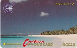Anguilla, ANG-3A, EC$20, Shoal Bay - 3CAGA, 2 Scans. - Anguilla