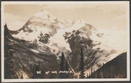 Mount Sir Donald, British Columbia, C.1920 - Byron Harmon RPPC - British Columbia