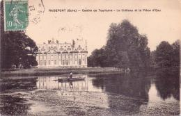 ALTE   AK   RADEPONT  / Dep. 27  -  Chateau -  1922 Gelaufen - Otros Municipios