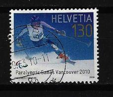 SCHWEIZ - Mi-Nr. 2135 Olympische Und Paralympische Winterspiele 2010, Vancouver Gestempelt - Switzerland