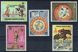Benin, Summer Olympics, Moscow, Soviet Union (Russia), 1980, MNH VF - Benin - Dahomey (1960-...)