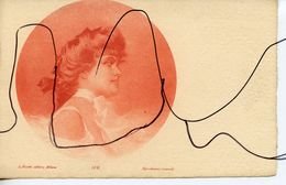 CPA. Portrait D'une Femme . A. FUSETTI EDITORE MILANO - Italia