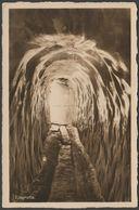 Eisgrotte, Grindelwald, C.1920 - Schild-Bichsel Foto AK - BE Berne