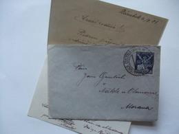 CZECHOSLOVAKIA - 1923 Entire - Moravska Ostrava To Morana - Czechoslovakia