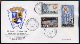 TAAF 1964, Year Of Quite Sun, FDC - Space