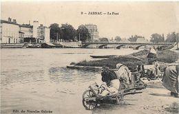 Charente JARNAC Le Pont Lavandieres Brouette  ..G - Jarnac
