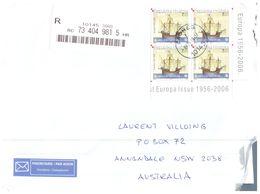 (111) Croatia Cover Posted To Australia - EUROPA 50th Anniversary - 2005 - 2005