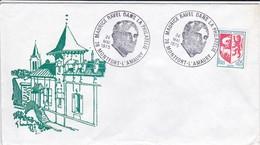 78---MONTFORT-L'AMAURY--Maurice RAVEL  24-mai  1975---enveloppe--( état Moyen )---voir 2 Scans - Marcophilie (Lettres)