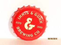 Capsules Ou Plaques De Muselet  BIÈRE INNIS & GUNN BREWING CO - Bier