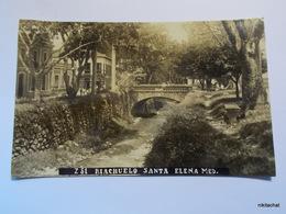 Riachuelo Santa Elena-Medellin-Carte Photo - Colombia