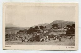 LESSOUTO - AK 316060 Un Village - Lesotho