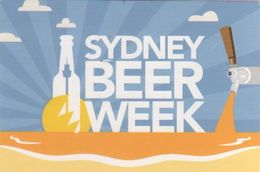 Australia 2017 Postally Used Postcard,sent To Italy,Sydney Beer Week - Postal Stationery