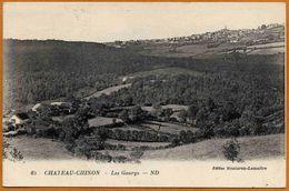 58 / Environs De Château-Chinon - Les Gaurys (tampon 1927) Gorys - Chateau Chinon