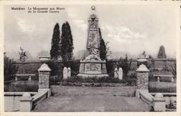 Maisières Le Monument Aux Mort De La Grande Guerre - Mons