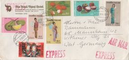 Thailand 1973 Air Mail Cover Sent To Germany - Thailand