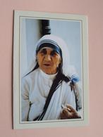 Moeder TERESA M.C. Missionary Of Charity - ° Skopje 27 Aug. 1910 - Calcutta (India) 5 Sept. 1997 ( Missio / Zie Foto ) ! - Décès