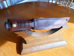 "Poignard US  KA-BAR ""OLEAN- N.Y.   USMC  (Modèle Vietnam) - Knives/Swords"