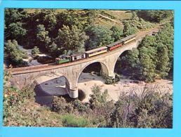 Cp Carte Postale - Chemin De Fer Du Vivarais Ligne Tournon Lamastre Locomotive 31 - Other Municipalities