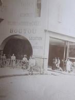 AGEN(Lot&Garonne)BOUTRON CYCLES AUTOMOBILES MACHINE à COUDRE Situé Rue Des Cornières Photographie Photo Originale-Métier - Métiers