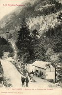 CPA - Environs De CAUTERETS (65) - Aspect De La Buvette De La Cascade Du Cerisey En 1907 - Cauterets