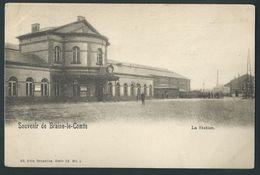 Braine -le- Comte. Gare. Station. Edit. Nels. Série 73, N°1. - Braine-le-Comte