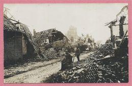 Belgique - LANGEMARK - Flandre Occidentale - Carte Photo - Foto - Guerre 14/18 - Carte N° 13 - Langemark-Poelkapelle