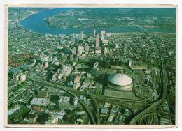 USA -- Louisiana -- NEW ORLEANS--Vue Aérienne (Lousiana Superdome-stade) - New Orleans