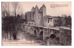 0533 - Pont Sur La Gelise Et Moulin De Barbaste - Tuja Ed. à Nérac - N°114 - Nerac
