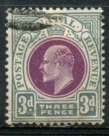 Natal 1902 3 Cent King Edward VII Issue   #86 - Afrique Du Sud (...-1961)