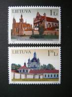 Lithuanian Churches # Lietuva Litauen Lituanie Litouwen Lithuania 2007 MNH # Mi. 935/6 - Lithuania