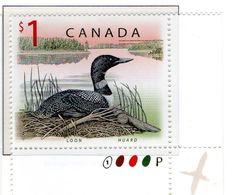 PIA - CANADA - 1998 : Uso Corrente - Oc Selvatica   - (Yv 1616) - Nuovi