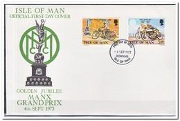 MAN 1973, FDC, Manx Grand Prix - Man (Insel)