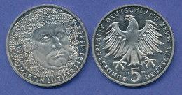 Bundesrepublik 5DM Gedenkmünze 1983, Martin Luther - [ 7] 1949-… : FRG - Fed. Rep. Germany