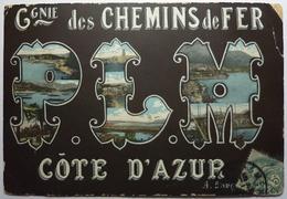 PLM - COMPAGNIE DES CHEMINS DE FER - COTE D'AZUR - Sonstige