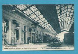 CPA  3843 - Chemin De Fer La Gare Côté Français MODANE 73 - Modane