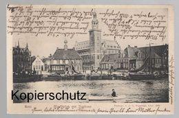 ALTE POSTKARTE LEER MARKTPLATZ MIT RATHAUS Cpa AK Ansichtskarte Postcard - Leer