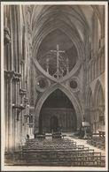 Interior, Wells Cathedral, Somerset, C.1920s - K Ltd RP Postcard - Wells