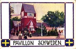 Jagd, Jagdausstellung Wien 1910, Pavillon Schweden - Animaux & Faune