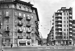 """07383 """"TORINO - LARGO E VIA GASPARE SPADOLINI"""" ANIMATA, AUTO,PANETTERIA PERINO,VERA FOTO, S.A.C.A.T. 47998 CART NON SPED - Italie"""