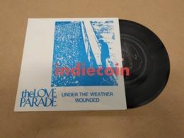 "45T LOVE PARADE Under The Weather 1989 UK 7"" Flexi Disque Flexidisc C86 - Special Formats"